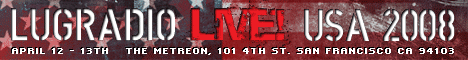 LugRadio Live USA 2008 banner
