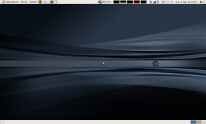 My HP Mininote 2133 Desktop under Ubuntu 9.04 alpha 5